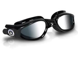 Aqua Sphere Kaiman Mirrored Lens Black Frame Swim Goggles