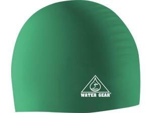 Water Gear Silicone Swim Cap Jade