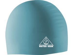 Water Gear Silicone Swim Cap Mint Green
