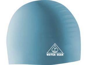 Water Gear Silicone Swim Cap Sky