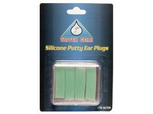 Water Gear Silicone Putty Ear Plugs Green