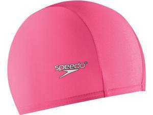 Speedo Solid Lycra Swim Cap Pink