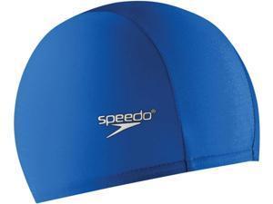 Speedo Solid Lycra Swim Cap Sapphire