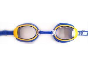 Water Gear Minnow Jr. Swim Goggles Clear/Blue