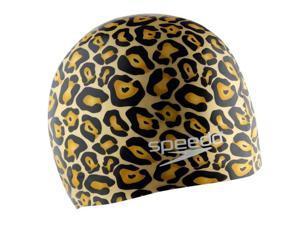 Speedo Hydrotribe Silicone Swim Cap Gold