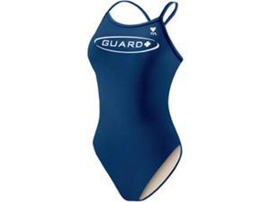 Tyr Guard Solid Female Navy II 36