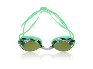 Water Gear Metallic Vision Swim Goggles Lime