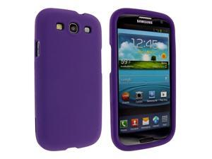 Purple Snap-On Hard Case Cover for Samsung Galaxy S3