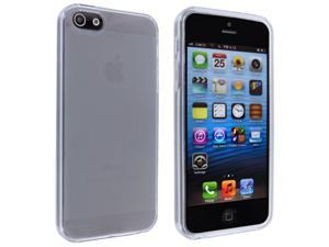 iPhone 5 Clear TPU Gummy Case
