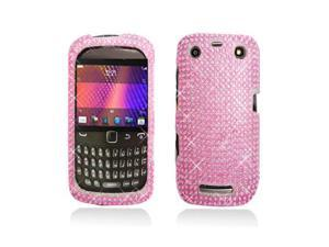 Pink Full Diamonds Snap-On Hard Case Cover for Blackberry Curve 9350 9360 9370