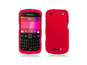 Red Snap-On Hard Case Cover for Blackberry Curve 9350 / 9360 / 9370