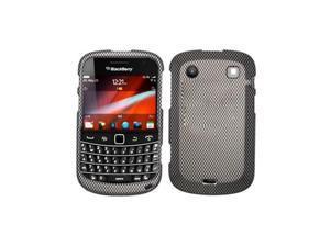 Carbon Fiber Design Snap-On Hard Case Cover for Blackberry Bold Touch 9900 9930