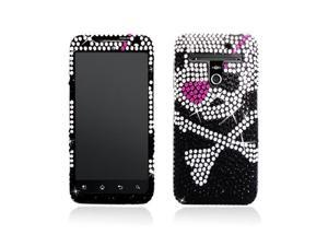 Pirate w/ Pink Patch Full Diamonds SnapOn Case Cover for Revolution Esteem Ms910
