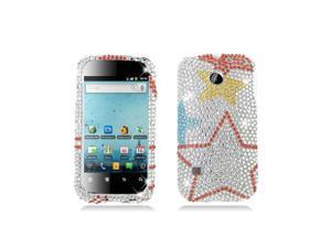 Colorful Stars Design Diamond Snap-On Hard Case Cover for Huawei Ascend 2 M865
