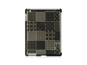 For iPad 2 / 3 Black VooDoo Design Back Cover Case