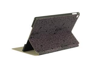 For iPad Air 2 Grey Cartoon Design Leather Holder w/ Stand Cover Case