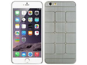 Luxmo Silver Apple iPhone 6 Plus Aluminum Case Swank Square ALIP6LSWSQSL
