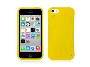 For iPhone 5C Yellow Watermelon Design TPU Fitted Skin Cover Case