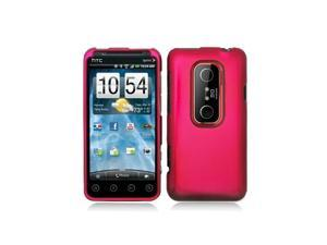 Pink Snap-On Hard Case Cover for HTC Evo 3D  /  Evo V