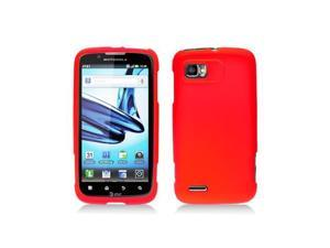 Red Silicone Skin Cover Case for Motorola Atrix 2 Mb865
