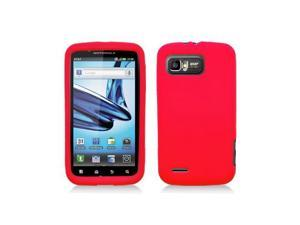 Red Skin Cover Case for Motorola Atrix 2 Mb865