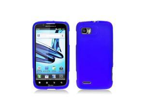 Blue Skin Cover Case for Motorola Atrix 2 Mb865