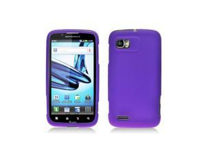 Dark Purple Silicone Skin Cover Case for Motorola Atrix 2 Mb865