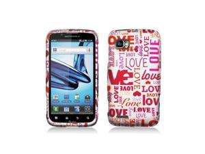 Love Design Snap-On Hard Case Cover for Motorola Atrix 2 Mb865