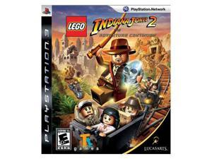 Lego Indiana Jones 2: Adventure Continues Playstation3 Game LUCASARTS