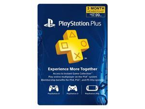 Sony PlayStation Plus Membership - 3 Month (Physical Card)