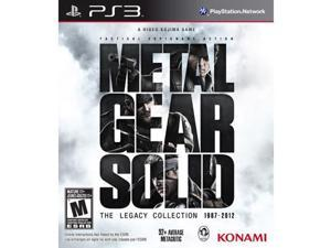 METAL GEAR SOLID THE LEGACY COLLECTION [M]  NO ARTBOOK