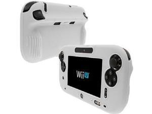 Wii U Game Pad White Silicone Protective Skin Case [KMD]