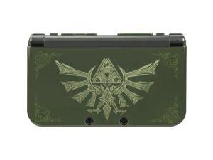 Legend of Zelda Forest Green 3DS XL System Clip On Armor Protective Case [PDP]