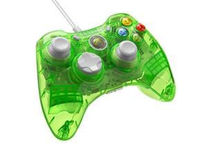 Xbox 360 Rock Candy Aqualime Wired Controller [PDP]