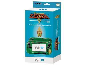 Wii U Game Pad Retro Legend of Zelda Decorative Skin & Screen Protector [Hori]
