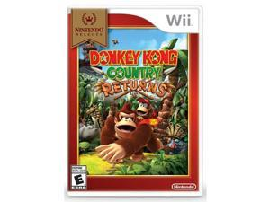 Donkey Kong Country Returns - Nintendo Selects - [E] (Wii)