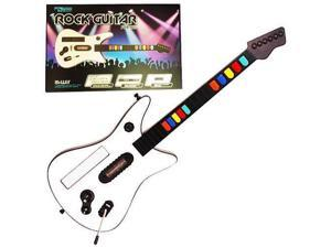 KMD -  Fret Guitar Wireless  Controller  for Nintendo  Wii (White)