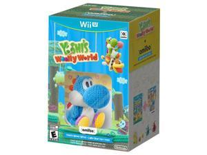 Woolly Wrld Blue amiibo WiiU