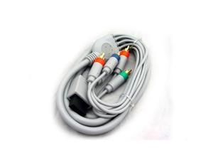 """Wii/Wii U Gold Plated HD Component 8 """" Cable [KMD]"""