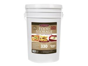 Chef's Banquet All-Purpose Readiness Kit 1 Month Food Storage Supply (ARK 330 Servings), Long Term Food Storage, Emergency Survival Supply Freeze Dried Food, 6 gal bucket, Emergency Preparedness Kit