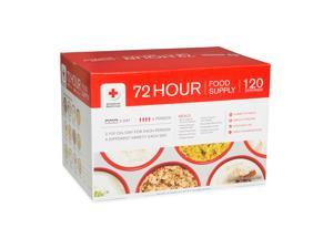 American Red Cross 72 Hour 4 Person Food Supply – 120 Servings