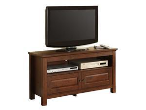 44 in. Wood TV Console - Traditional Brown