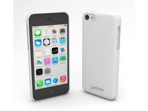 Devicewear Metro: Ultra Light Weight Hard Shell/Soft Texture White iPhone 5C Case - Retail Packaging (MET-IPH5C-WHT)