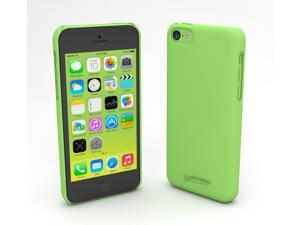 Devicewear Metro: Ultra Light Weight Hard Shell/Soft Texture Green iPhone 5C Case - Retail Packaging (MET-IPH5C-GRN)