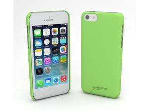 Devicewear Metro: Ultra Light Weight Hard Shell/Soft Texture Green iPhone 5S Case - Retail Packaging (MET-IPH5S-GRN)