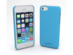 Devicewear Metro: Ultra Light Weight Hard Shell/Soft Texture Blue iPhone 5S Case - Retail Packaging (MET-IPH5S-BLU)