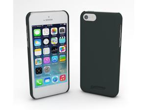 Devicewear Metro: Ultra Light Weight Hard Shell/Soft Texture Black iPhone 5S Case - Retail Packaging (MET-IPH5S-BLK)