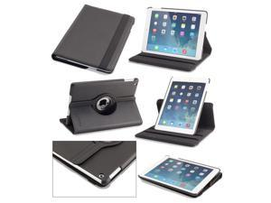 Rotating iPad Air Case: Devicewear Detour 360 - Sturdy Vegan Leather Case/Stand with Dual On/Off Switches