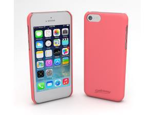 Devicewear Metro: Ultra Light Weight Hard Shell/Soft Texture Pink iPhone 5S Case - Retail Packaging (MET-IPH5S-PNK)