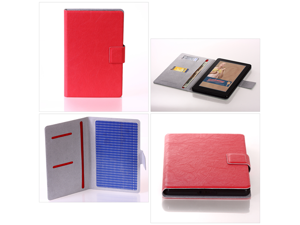 Deft Slim Fit: Thin Red Kindle Fire Case (The World's Thinnest Kindle Fire Cover)